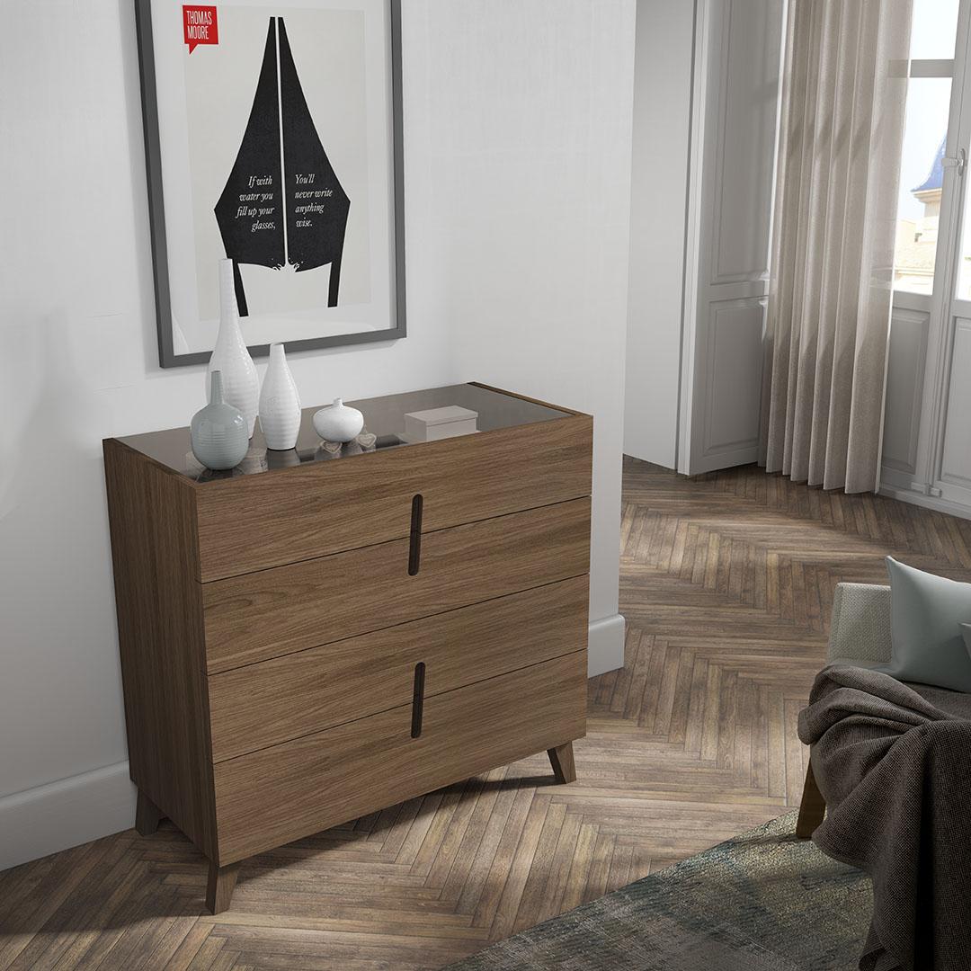 mueble CÓMODA CON PATAS